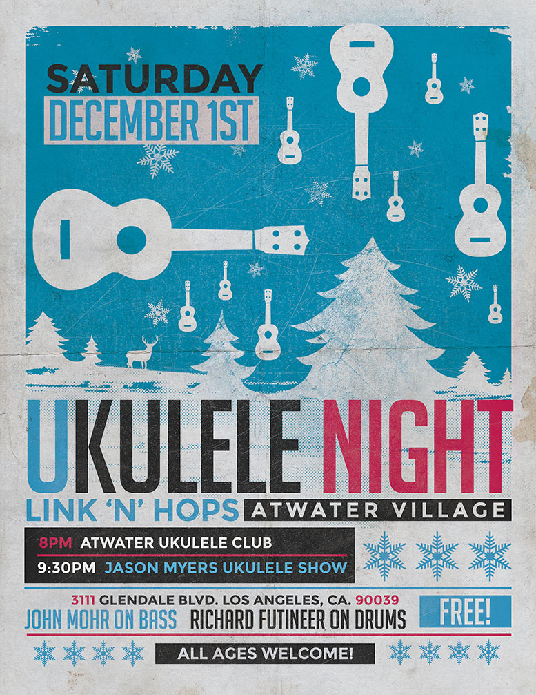Atwater Village Ukelele Club at LinknHops